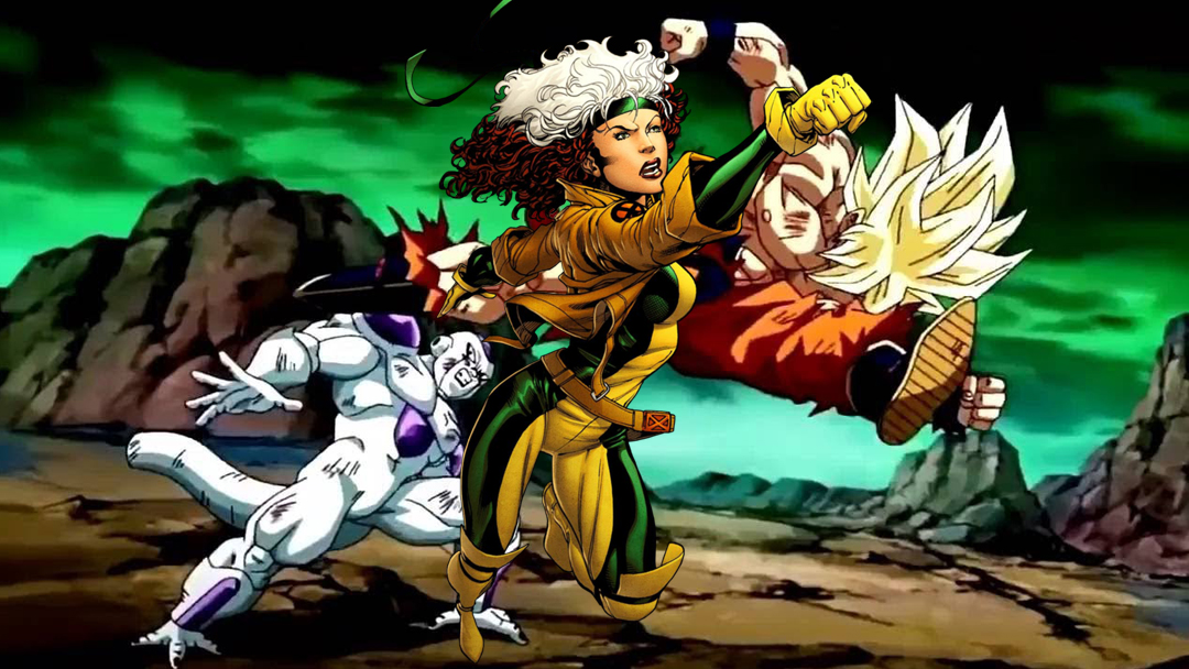 11/09/19, Dragon Ball Z, Super Saiyajin, Rogue, Titania