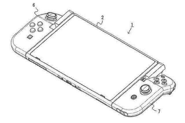 Joy-Con Flexible Patente