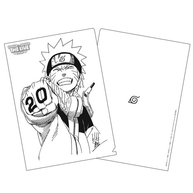 10/09/19, Naruto, 20 Aniversario, Masashi Kishimoto, Mercancía