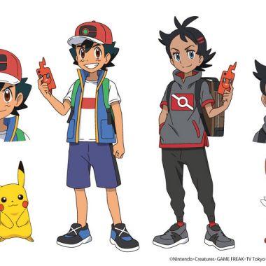 Pocket Monster Nuevo Personaje Pokémon