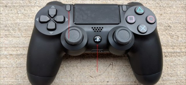 Control de PlayStation4 botones PS y Share