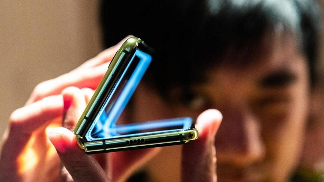Nuevo teléfono plegable de Samsung