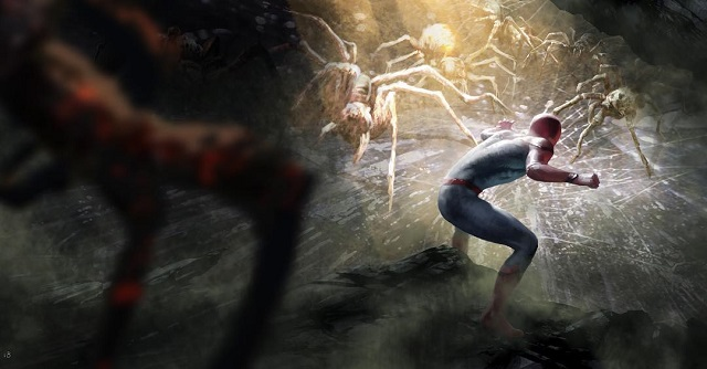 Artes Conceptuales de Spider-Man Far From Home