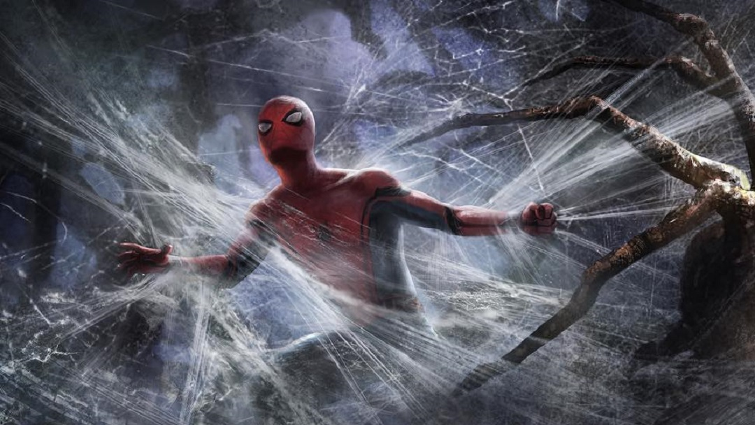 Revelan artes conceptuales de Spider-man enfrentando arañas ...
