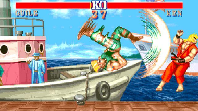 25/09/19, Street Fighter II, CPU, Trampa, Juego