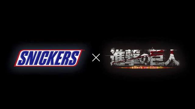 01/10/19, Attack On Titan, Shingeki No Kyojin, Snickers, Comercial