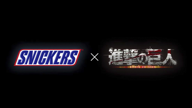 01/10/19, Attack On Titan, Shingeki No Kyojin, Snickers, Comercial