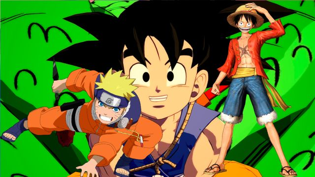 07/10/19, Dragon Ball, One Piece, Naruto, Homenaje