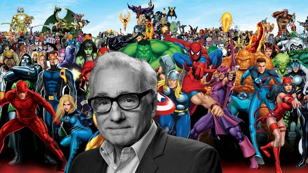 Martin Scorsese dice que el cine está siendo invadido por Marvel