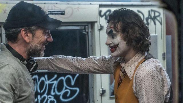 Joaquin Phoenix y Todd Phillips Joker
