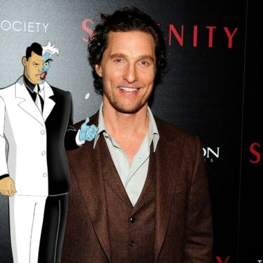 Matthew McConaughey podría ser Harvey Dent en Batman