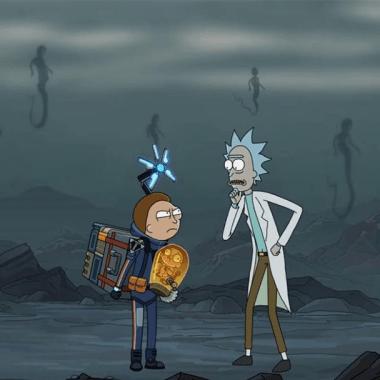 Rick y Morty Death Stranding