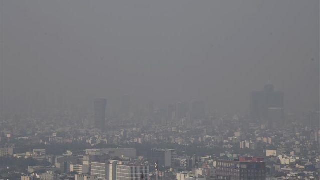 contaminacion Valle de Mexico