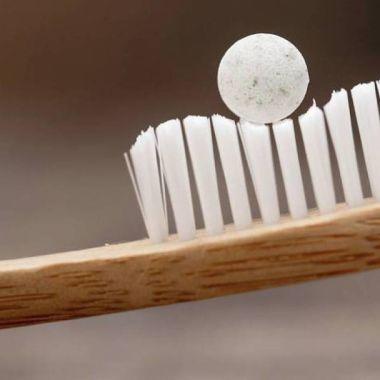 Cápsulas pasta dientes
