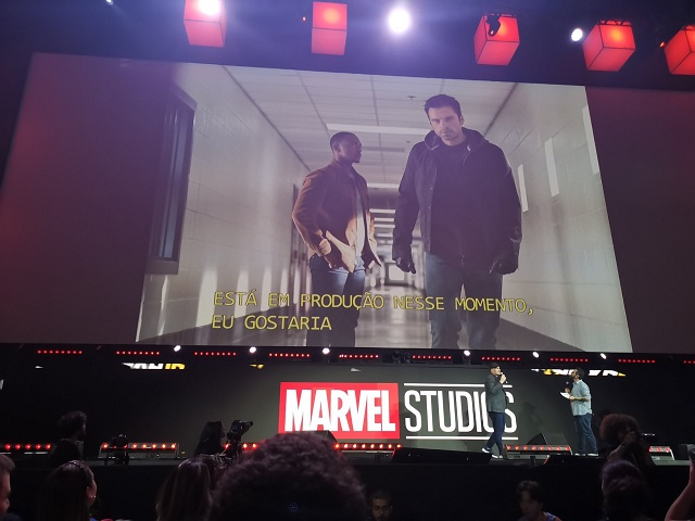 Falcon y Winter Soldier Comic Con Brasil
