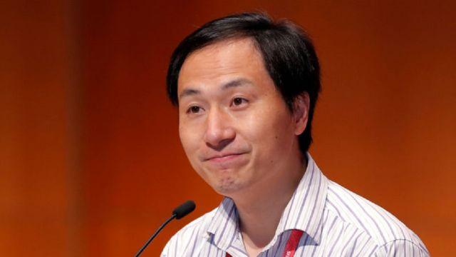 He Jiankui Científico Chino