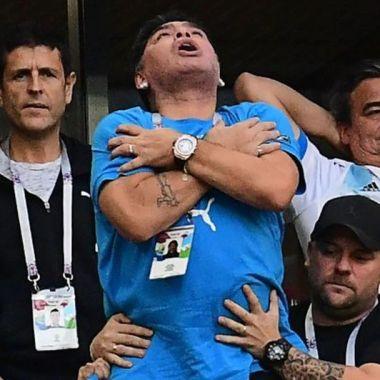 Maradona dice que fue abducido por OVNIs
