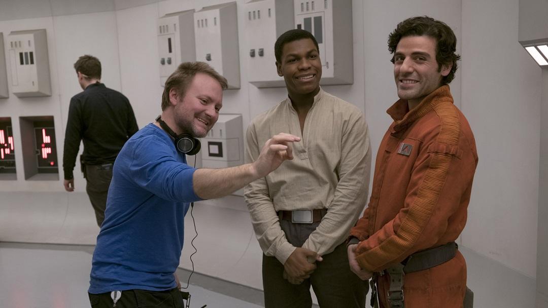 Director Rian Johnson Last Jedi Fanservice