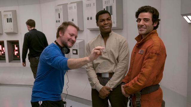 Director Rian Johnson Last Jedi Fanservice