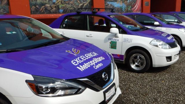 Una imagen de los taxistas de Cuernavaca