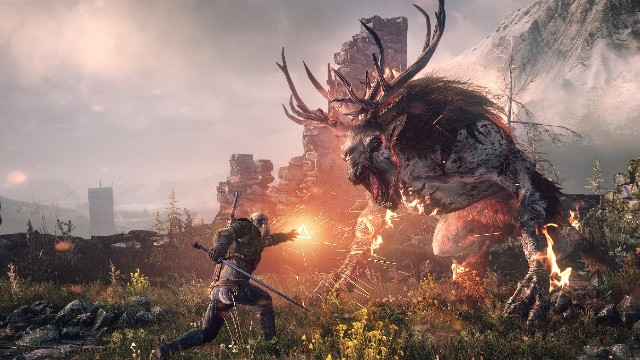 Mejores juegos década The witcher 3