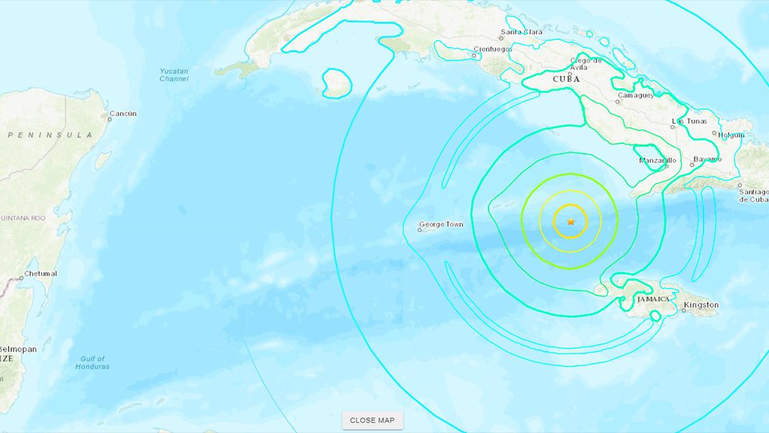 Alerta de Tsunami Caribe 28 de enero