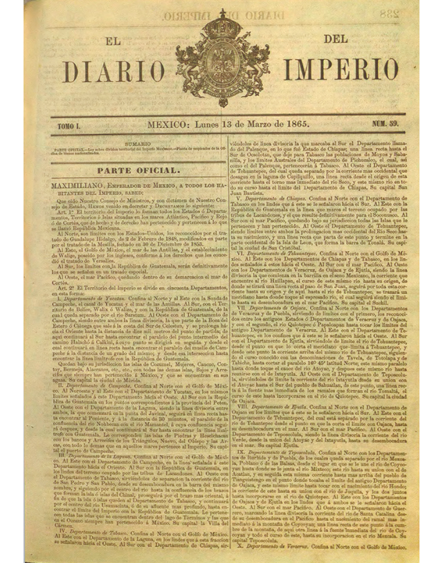El Diario del Imperio