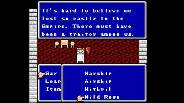 Final Fantasy II Sistema
