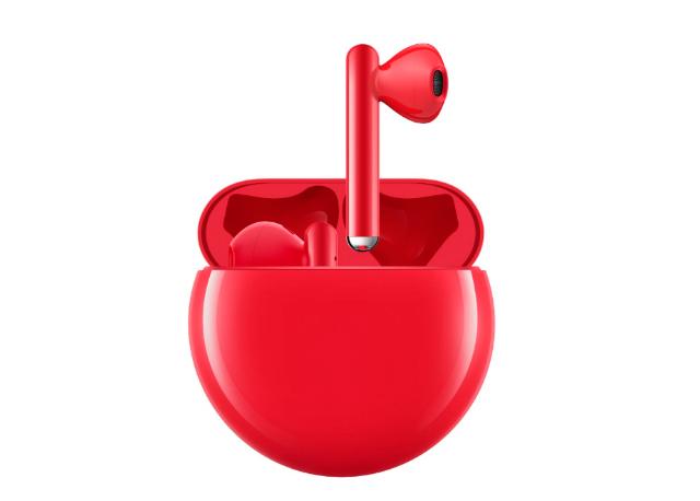 Huawei FreeBuds 3 rojos