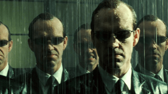 Hugo Weaving Agente Smith Matrix 4