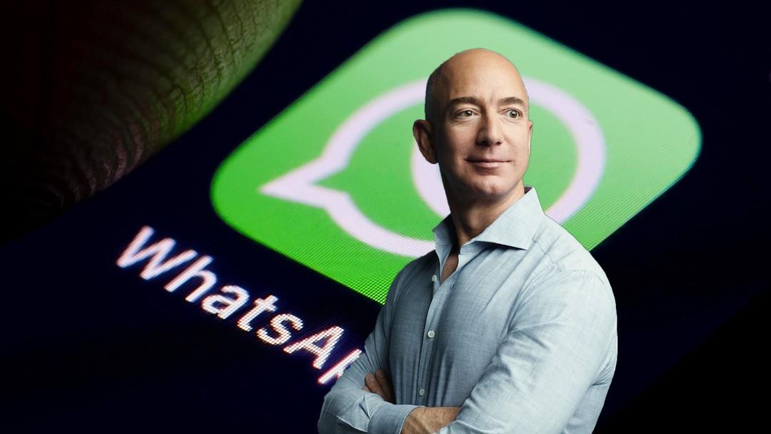 Jeff Bezos Amazon WhatsApp