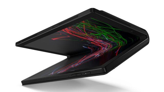 LA nueva PC plegable de Lenovo
