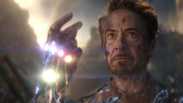 Muerte de Tony Stark Avengers Endgame