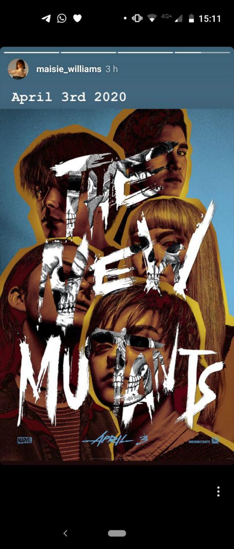 Póster New Mutants