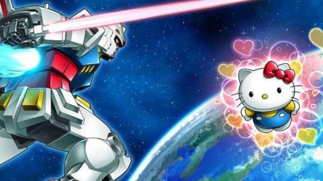 Figura Coleccionable Gundam Hello Kitty