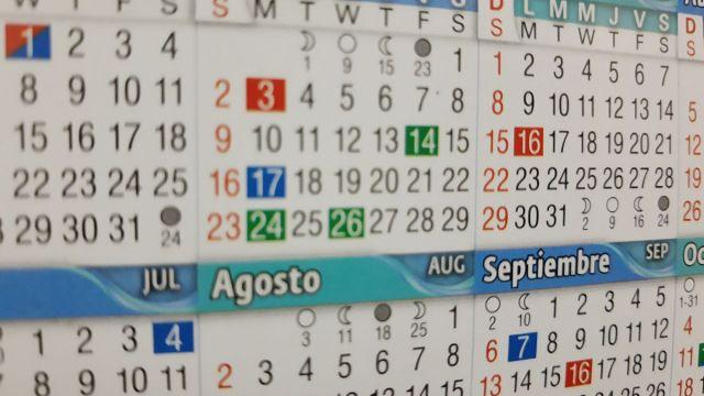 Calendario Año Bisiesto