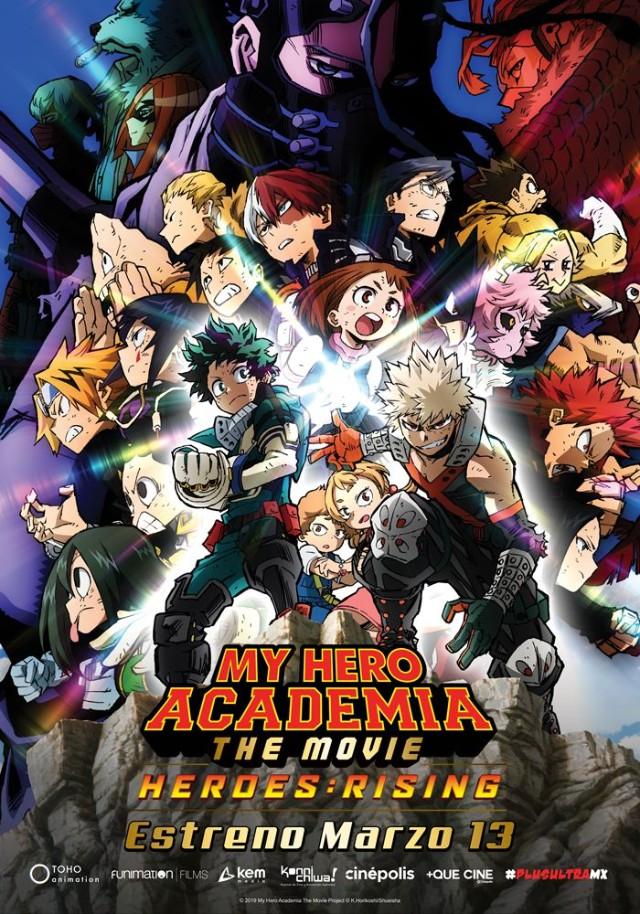 My Hero Academia Heroes Rising Se Estrenará Latinoamérica