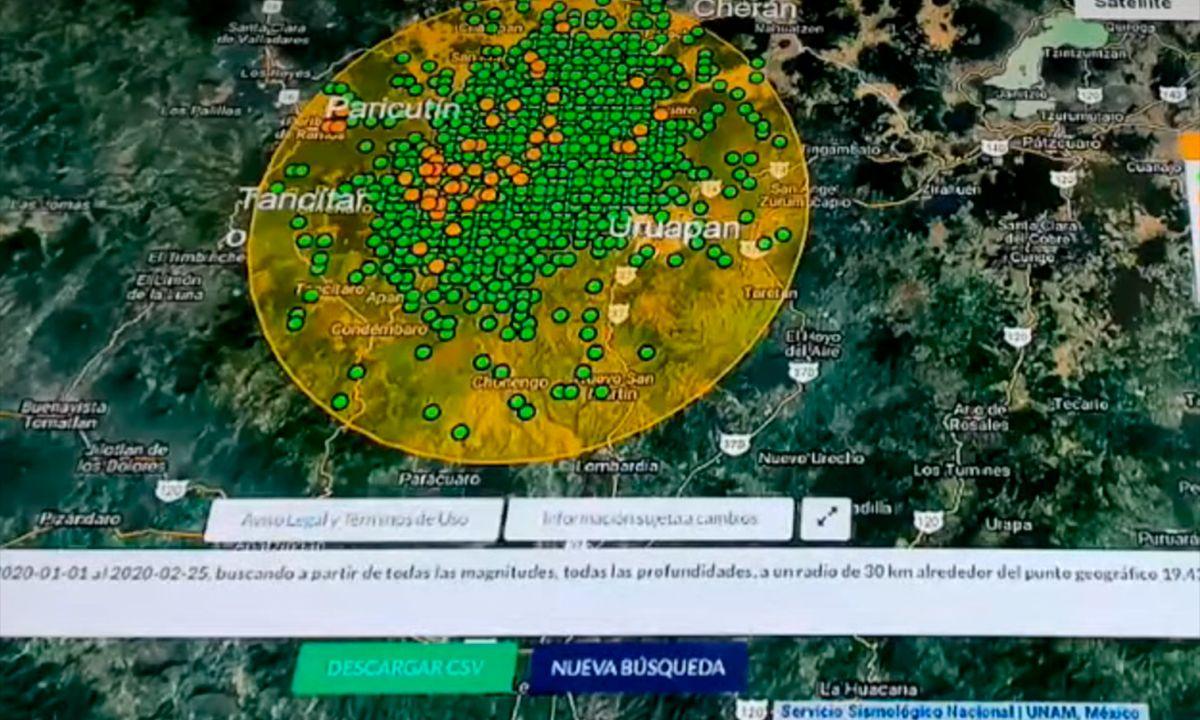 Temblores Michoacán 2020 UNAM