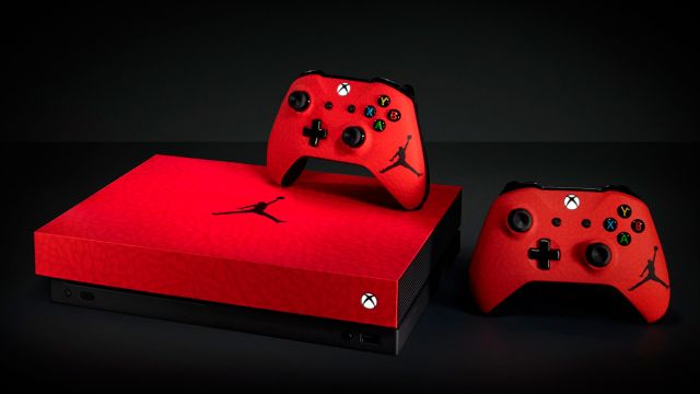 Xbox One X Michael Jordan