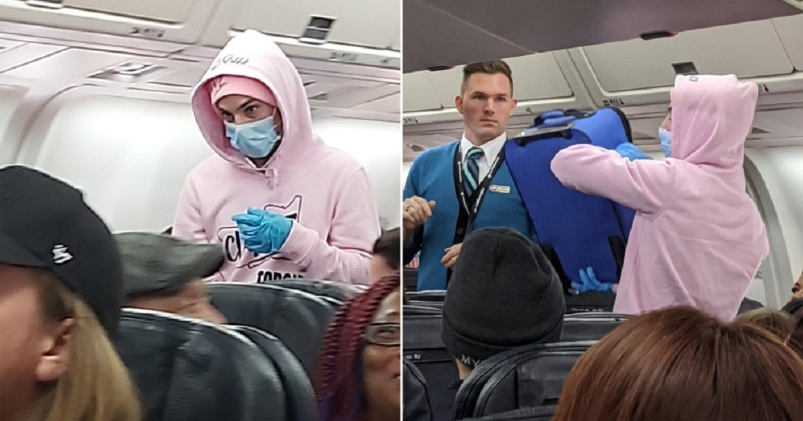 Youtuber Broma Coronavirus Avión