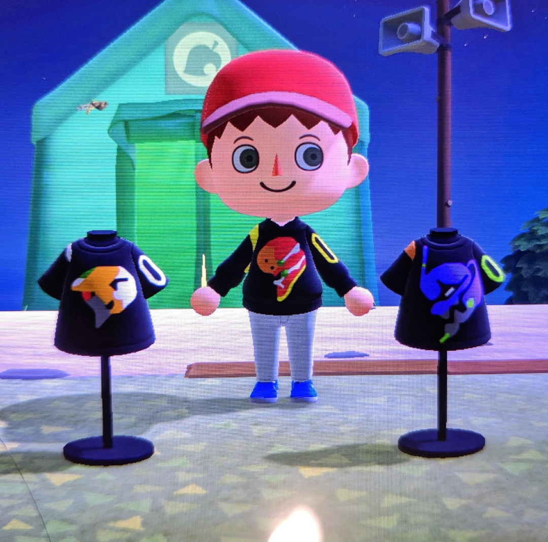 Animal Crossing Evangelion