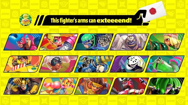 Arms Super Smash Bros