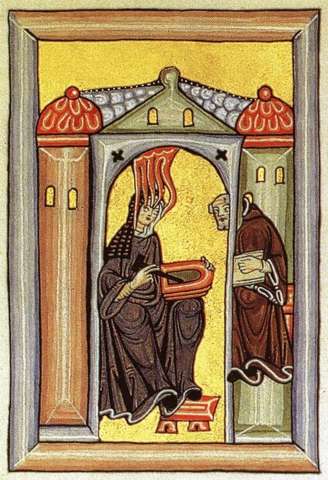 Hildegarda von Bingen Mujeres Filosofía