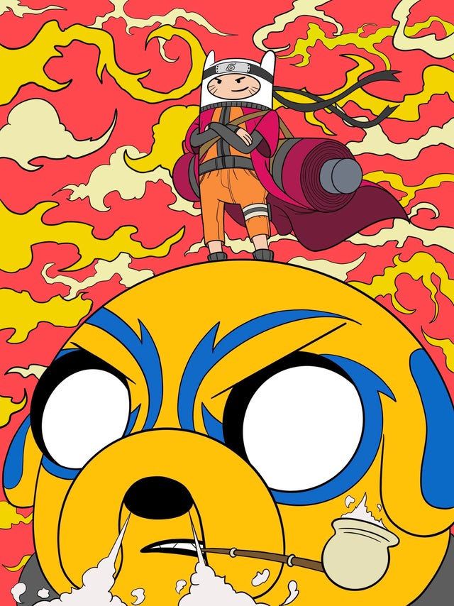 Naruto Hora Aventura Adventure Time