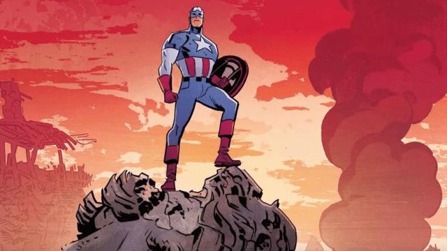 Imagen Captain America 16 Abril 2020