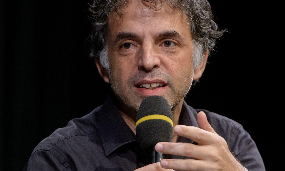 El escritor Etgar Keret