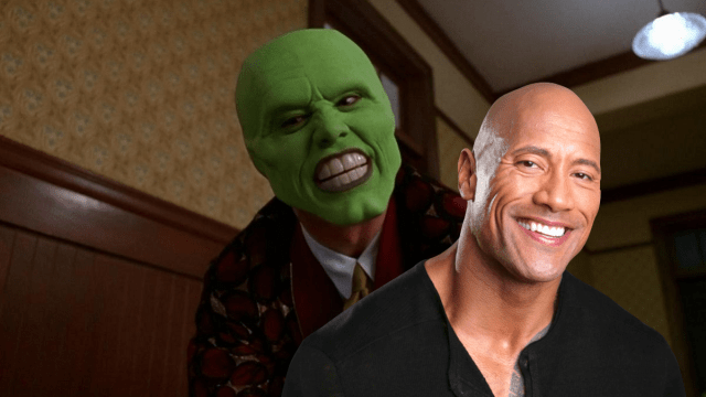 La Máscara Dwayne Johnson