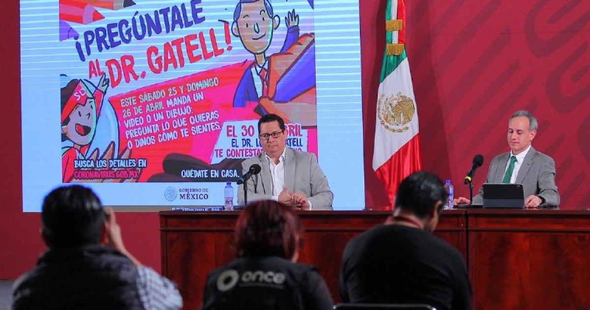Pregunta Hugo López-Gatell Día del Niño