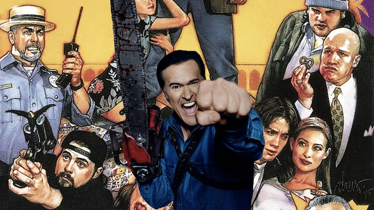Ash Williams en Mallrats 2