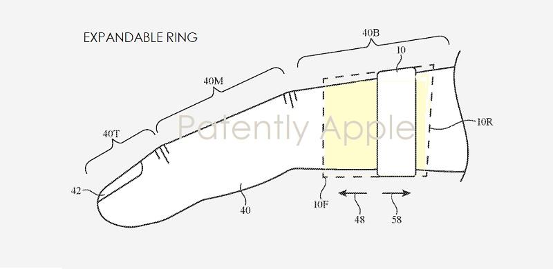 Apple patenta un sistema de realidad aumentada que funciona con amillos